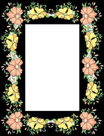 frise: frame 13 Stock Photo