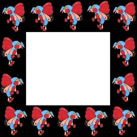 abstrait: frame zita Stock Photo