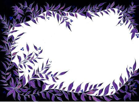 viola foglia