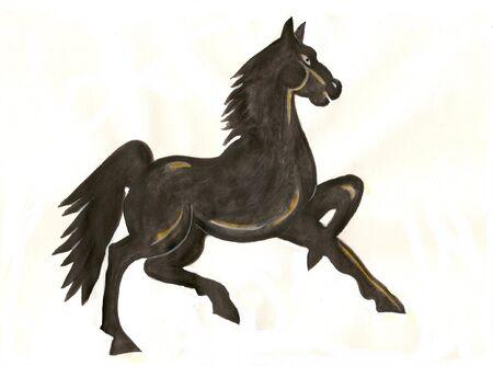 lavoro creativo: cavallo