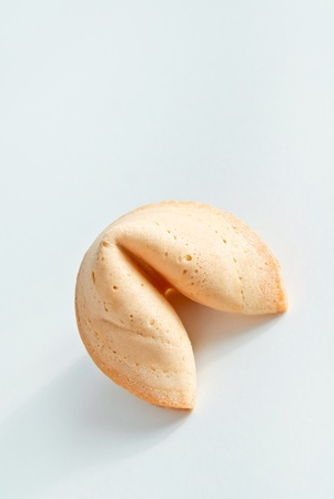 Asian fortune cookies on light background. photo