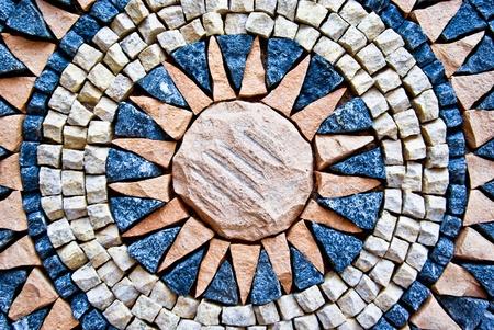 marrakesh: variopinto mosaico marocchino come sfondo