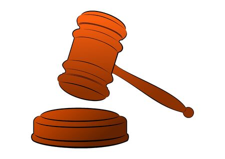 judicial or auction gavel
