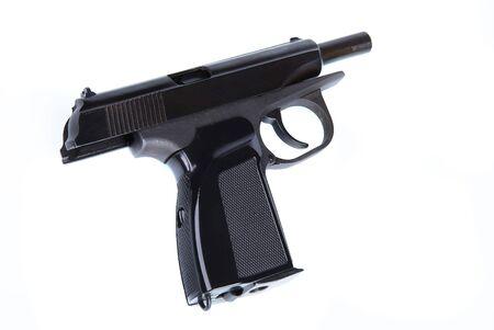 stickup: System Makarov pistol on a white background Stock Photo