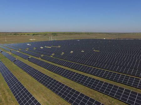 solar energy panels, ecologic sun energy Stock fotó