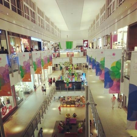 alam: Shopping mall in Setia Alam Selangor Malaysia Stock Photo
