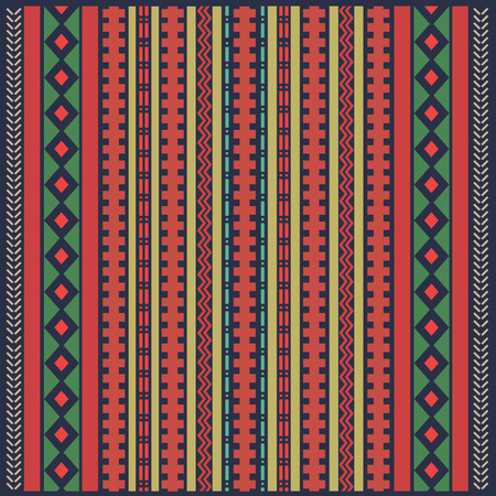 colored backgound: Abstract ethnic colored geometric backgound