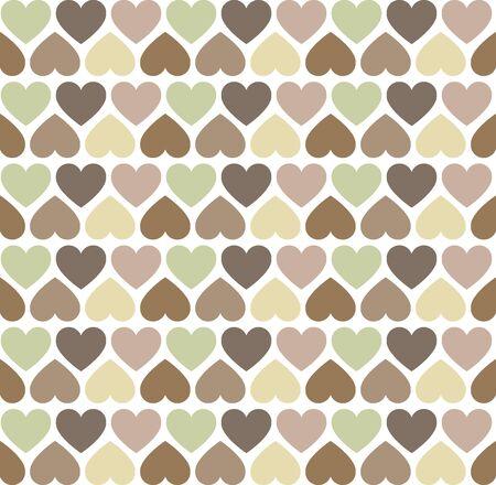 scrapbook background: Simply Heart Pastel Pattern, Valentines, wedding background Illustration