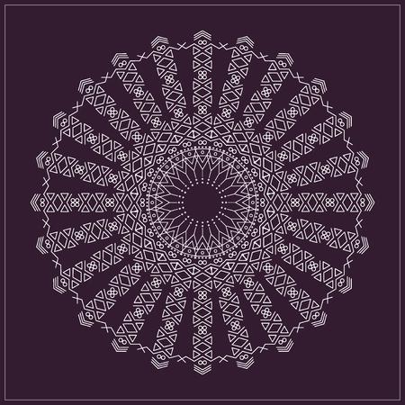 Trendy Hipster Circle Bright Philosophical Symbol Circular