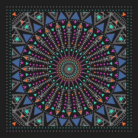 voile: mystery dark pattern. Modern stylish texture. Contemporary graphic design.