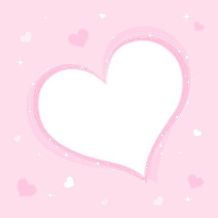 background pink: Heart soft pink background