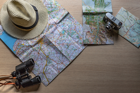 planning the holidays ,the trip with the old camera, binoculars and my favorite hat