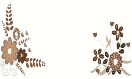 coffee flower background