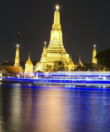 wat arun at bangkok of thailand Stock Photo
