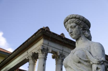 old roman statue Stock Photo