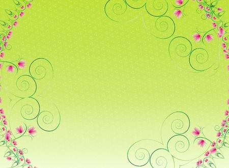 flower circle wallpaper