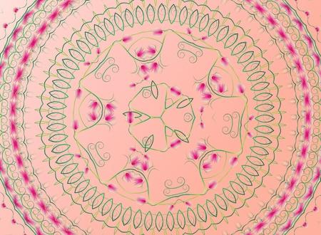 Pattern flower background