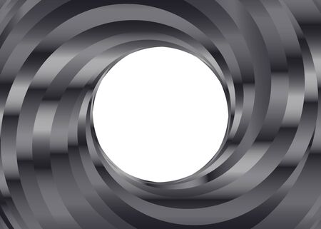 Black and white metal color Swirl background