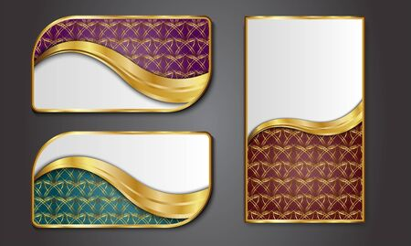 luxuries: Premium Luxury cards,Retro Backgrounds.blank for message or text.