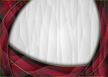 Polygon vector background