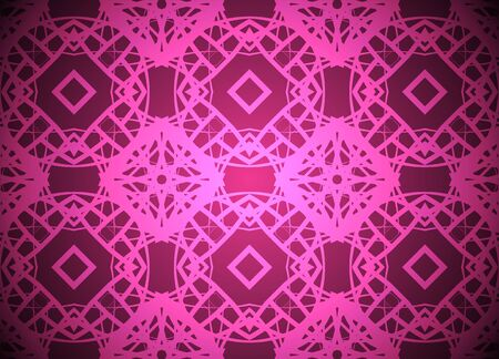 Pink light vector background with square label. Illustration