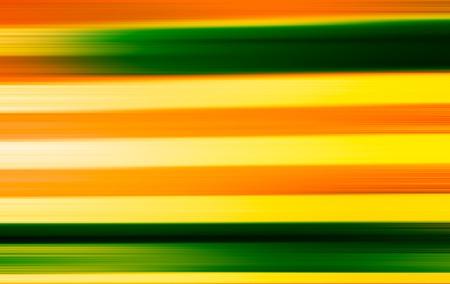 horizontal  green: Horizontal green and orange motion blur background Stock Photo