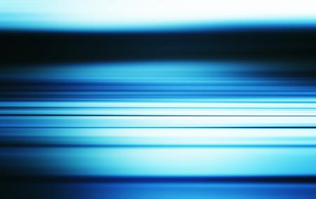 motion blur: Horizontal blue sea motion blur illustration background