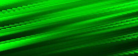 diagonal: Diagonal green 3d blocks illustration background
