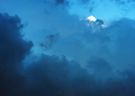 altitude: Dramatic high altitude cloudscape background