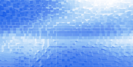 grooved: Horizontal white cubes business presentation abstract background backdrop