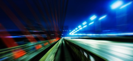 aligned: Horizontal wide vivid left aligned higway business motion abstraction background backdrop