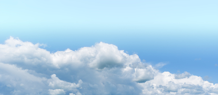 Horizontal vivid white dream wide pano bottom aligned cloudscape compostion background backdrop