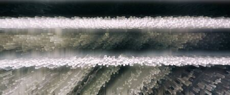 crystallize: Horizontal vivid 3d extrude cube business abstraction background backdrop Stock Photo