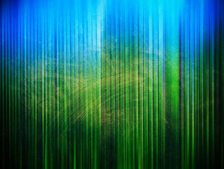 grainy: Green grainy vertical stripes textured