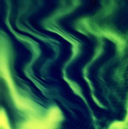 topography: Green mesh landscape topography grid map Stock Photo
