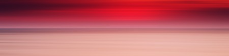 Horizontal wide panorama pale red sunset ocean milk background backdrop