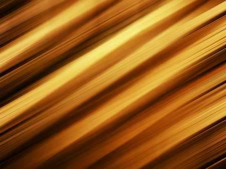 Horizontal vivid orange gold diagonal stripes background Stock Photo