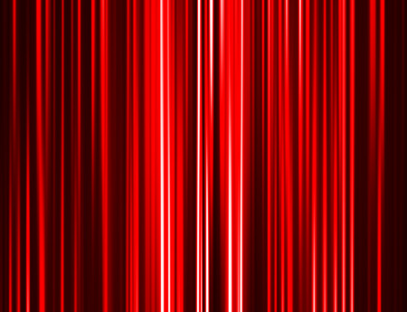 Horizontal red curtain abstract background Stock Photo