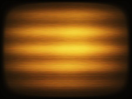 Horizontal vintage sepia interlaced tv screen abstraction background