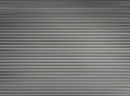 Horizontal black and white interlaced tv lines abstraction background