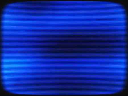 interlaced: Horizontal vintage blue interlaced tv screen abstraction background