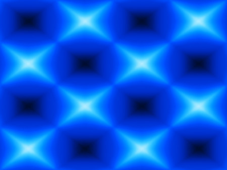 Diagonal blue blurred cubes abstraction background Stock Photo