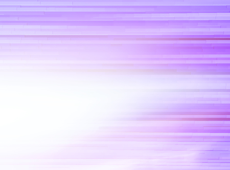the leak: Horizontal bright purple extruded lines abstraction with light leak background