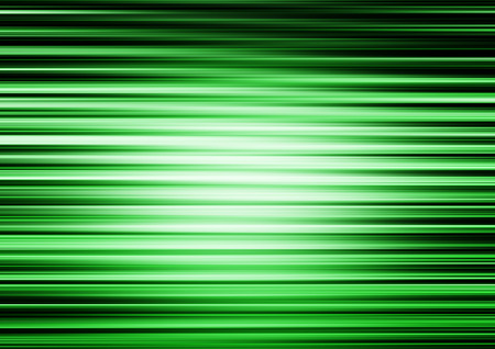 green lines: Horizontal green lines motion blur abstract illustration background Stock Photo