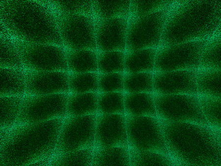 distort: Green curved 3d space noise textured background