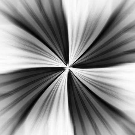 teleportation: Horizontal motion blur teleport abstraction background Stock Photo