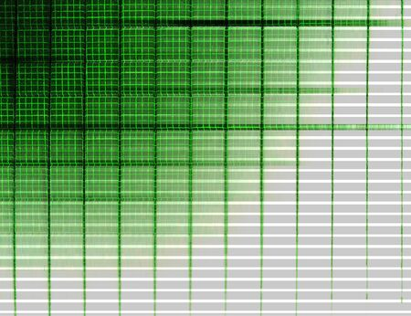Horizontal green vintage tv grid illustration background Imagens