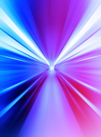 Pink and purple abstract teleport tunnel motion blur background