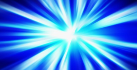 horizontal: Horizontal blue blast abstraction background