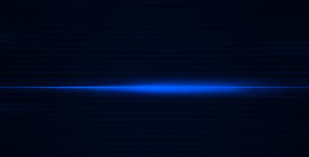 pulse: Horizontal vivid blue digital pulse line abstraction background Stock Photo